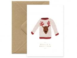 Carte - Mon joli pull de Noël