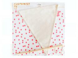Acheter Grand fanion triangle à customiser - 7,95€ en ligne sur La Petite Epicerie - 100% Loisirs créatifs