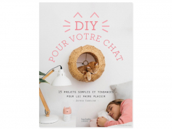 Acheter Livre DIY pour votre chat - 15 projets simples et tendance pour lui faire plaisir - 12,90€ en ligne sur La Petite Ep...