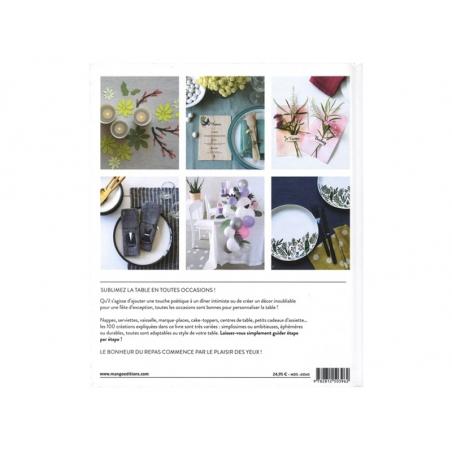 Acheter Le grand livre des décors de table - 100 créations sur-mesure - 24,95€ en ligne sur La Petite Epicerie - Loisirs cré...