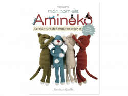 Acheter Livre Mon nom est Amineko - Le plus rusé des chats en crochet - 12,90€ en ligne sur La Petite Epicerie - Loisirs cré...
