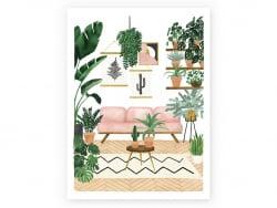 Acheter Affiche aquarelle - Mon joli canapé - 18 x 24 cm - 11,99€ en ligne sur La Petite Epicerie - Loisirs créatifs