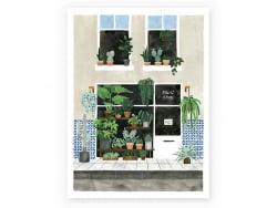 Affiche aquarelle - Plant...