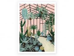 Acheter Affiche aquarelle - Grande serre - 18 x 24 cm - 11,99€ en ligne sur La Petite Epicerie - Loisirs créatifs