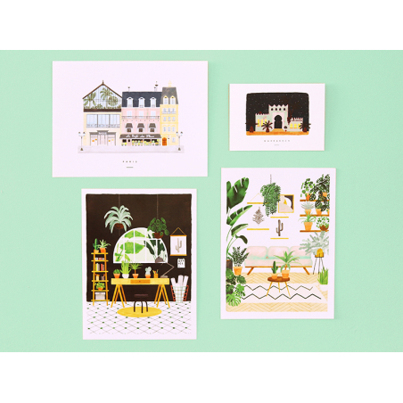 Acheter Affiche aquarelle - Maillot de bain - 18 x 24 cm - 11,99€ en ligne sur La Petite Epicerie - Loisirs créatifs