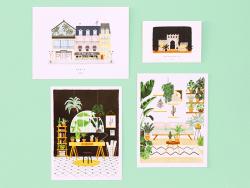 Acheter Affiche aquarelle - Plant nursery - 18 x 24 cm - 11,99€ en ligne sur La Petite Epicerie - Loisirs créatifs