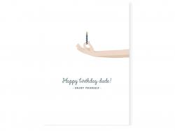 Acheter Carte aquarelle - Happy birthday dude ! - 3,49€ en ligne sur La Petite Epicerie - 100% Loisirs créatifs