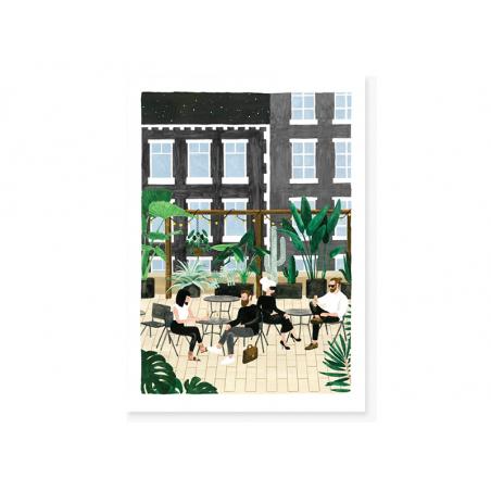 Acheter Carte aquarelle - Rooftop - 3,49€ en ligne sur La Petite Epicerie - 100% Loisirs créatifs