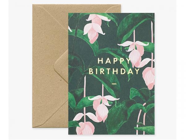 Acheter Carte aquarelle - Happy birthday - 3,49€ en ligne sur La Petite Epicerie - 100% Loisirs créatifs