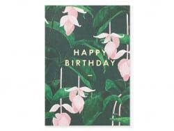 Acheter Carte aquarelle - Happy birthday - 3,49€ en ligne sur La Petite Epicerie - Loisirs créatifs