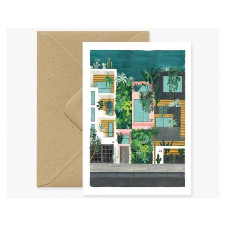 Acheter Carte aquarelle - Buildings - 3,49€ en ligne sur La Petite Epicerie - 100% Loisirs créatifs