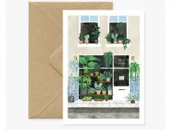 Carte aquarelle - Plant...
