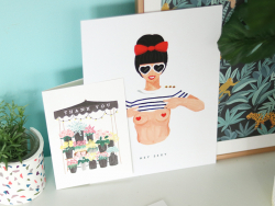 Acheter Carte aquarelle - Sexy birthday - 3,49€ en ligne sur La Petite Epicerie - 100% Loisirs créatifs
