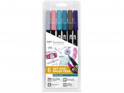 Acheter Set de 6 feutres double pointe pour lettering - couleurs vintage - 23,89€ en ligne sur La Petite Epicerie - 100% Loi...
