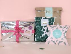 """Acheter Etiquette autocollante """"Hello gorgeous"""" - rose et doré - 0,16€ en ligne sur La Petite Epicerie - Loisirs créatifs"""