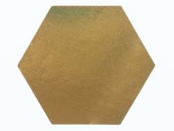 Acheter Etiquette autocollante hexagonale dorée - 0,12€ en ligne sur La Petite Epicerie - Loisirs créatifs