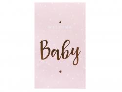 """Acheter Etiquette autocollante """"Baby"""" - rose et doré - 0,24€ en ligne sur La Petite Epicerie - 100% Loisirs créatifs"""