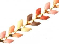 Acheter Chaîne épi émaillée - couleurs automnales - 2,59€ en ligne sur La Petite Epicerie - 100% Loisirs créatifs