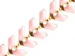 Acheter Chaîne épi émaillée - rose clair - 2,39€ en ligne sur La Petite Epicerie - 100% Loisirs créatifs