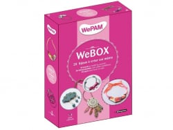 Acheter WePAM BOX - 20 idées bijoux à réaliser soi-même - 24,90€ en ligne sur La Petite Epicerie - 100% Loisirs créatifs