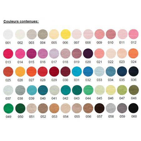Acheter Set de 60 pelotes de coton - Ricorumi - 64,99€ en ligne sur La Petite Epicerie - Loisirs créatifs