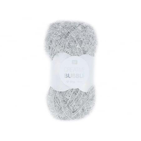 Acheter Laine à tricoter Creative bubble - argent - pour éponge tawashi - 3,49€ en ligne sur La Petite Epicerie - Loisirs cr...