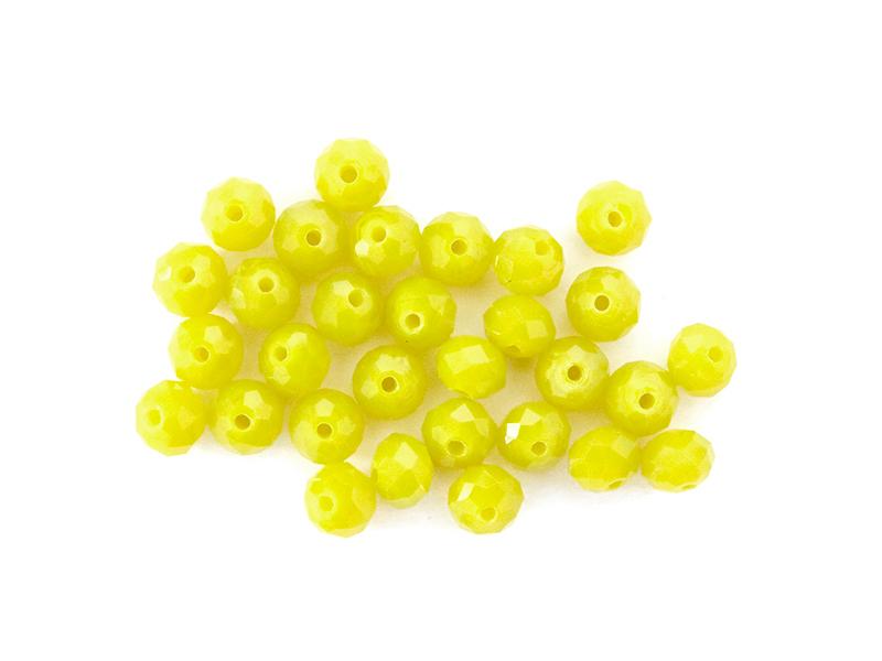 Acheter Lot de 50 perles à facettes en verre 8x6 mm - poire - 3,19€ en ligne sur La Petite Epicerie - Loisirs créatifs