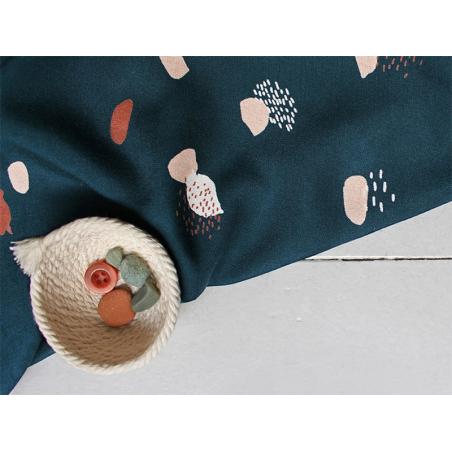 """Acheter Tissu viscose """"Moonstone Green"""" - Atelier Brunette - 1,99€ en ligne sur La Petite Epicerie - Loisirs créatifs"""