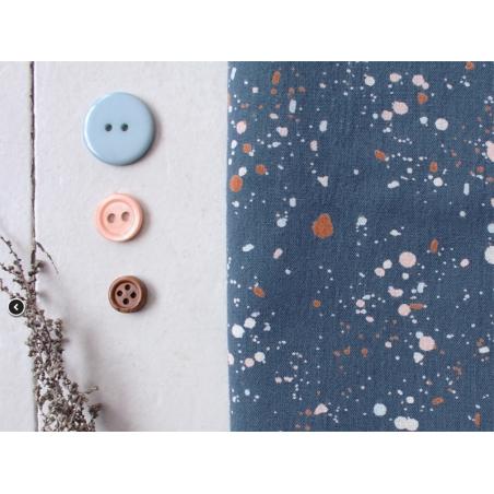 "Acheter Tissu viscose ""Terrazzo Night"" - Atelier Brunette - 1,80€ en ligne sur La Petite Epicerie - 100% Loisirs créatifs"