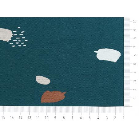 """Acheter Tissu viscose """"Moonstone Green"""" - Atelier Brunette - 1,99€ en ligne sur La Petite Epicerie - 100% Loisirs créatifs"""