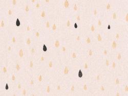 Acheter Tissu polycoton Pluie d'or - Nude - 1,79€ en ligne sur La Petite Epicerie - 100% Loisirs créatifs