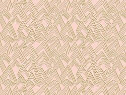 Acheter Tissu coton Montagnes - rose et doré - 2,19€ en ligne sur La Petite Epicerie - 100% Loisirs créatifs