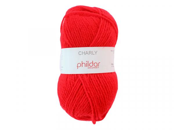 Acheter Laine à tricoter Charly - Rouge - 1,49€ en ligne sur La Petite Epicerie - Loisirs créatifs