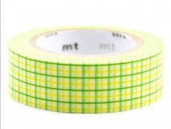 Acheter Masking tape motif - Quadrillé jaune et vert - 3,30€ en ligne sur La Petite Epicerie - 100% Loisirs créatifs