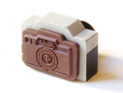 "Stamp - ""Poulain"" camera"