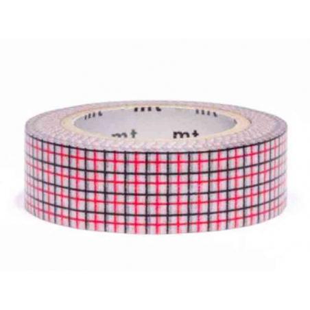 Acheter Masking tape motif - Quadrillé noir et rouge - 3,30€ en ligne sur La Petite Epicerie - 100% Loisirs créatifs