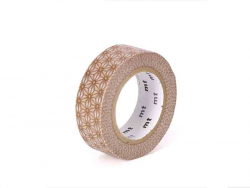 Acheter Masking tape motif - Asanoha sinchu or - 3,30€ en ligne sur La Petite Epicerie - 100% Loisirs créatifs