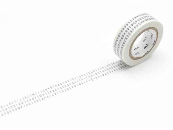 Acheter Masking tape motif - Lettres et caractères - 3,30€ en ligne sur La Petite Epicerie - Loisirs créatifs