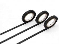 Acheter Masking tape trio slim J - 3 rouleaux - noir mat - 3,99€ en ligne sur La Petite Epicerie - Loisirs créatifs