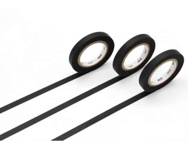 Acheter Masking tape trio slim J - 3 rouleaux - noir mat - 3,99€ en ligne sur La Petite Epicerie - 100% Loisirs créatifs