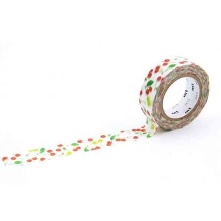 Acheter Masking tape motif - Cerises - 3,30€ en ligne sur La Petite Epicerie - 100% Loisirs créatifs