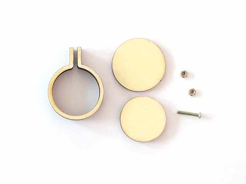 Acheter Mini tambour en bois à broder - 2,9 cm - 2,79€ en ligne sur La Petite Epicerie - 100% Loisirs créatifs