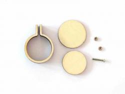 Acheter Mini tambour en bois à broder - 2,4 cm - 2,79€ en ligne sur La Petite Epicerie - 100% Loisirs créatifs