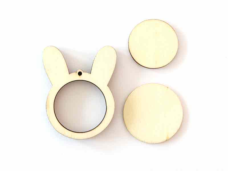 Acheter Mini tambour en bois à broder - Tête de lapin - 3,99€ en ligne sur La Petite Epicerie - Loisirs créatifs