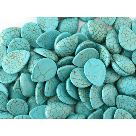 Acheter Cabochon goutte turquoise - 16mm - 0,29€ en ligne sur La Petite Epicerie - Loisirs créatifs