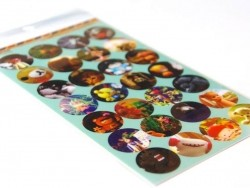 "Lomo photo Stickers ""Lovely toys"""