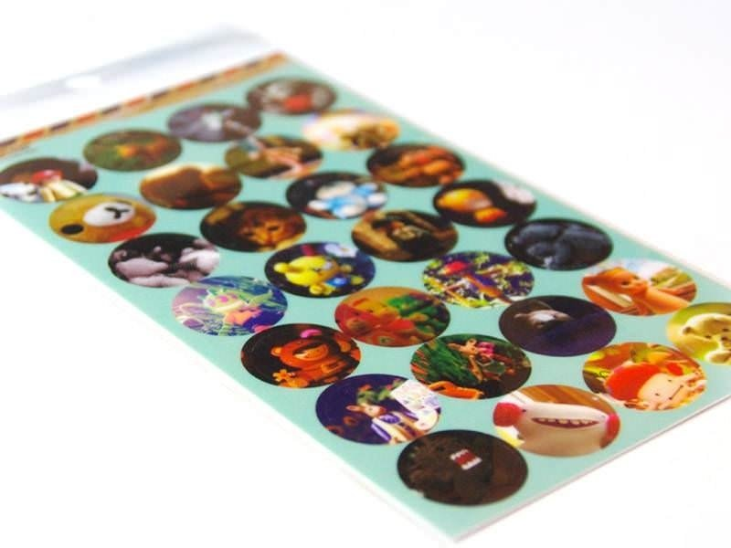 Lomo photo stickers - Lovely toys