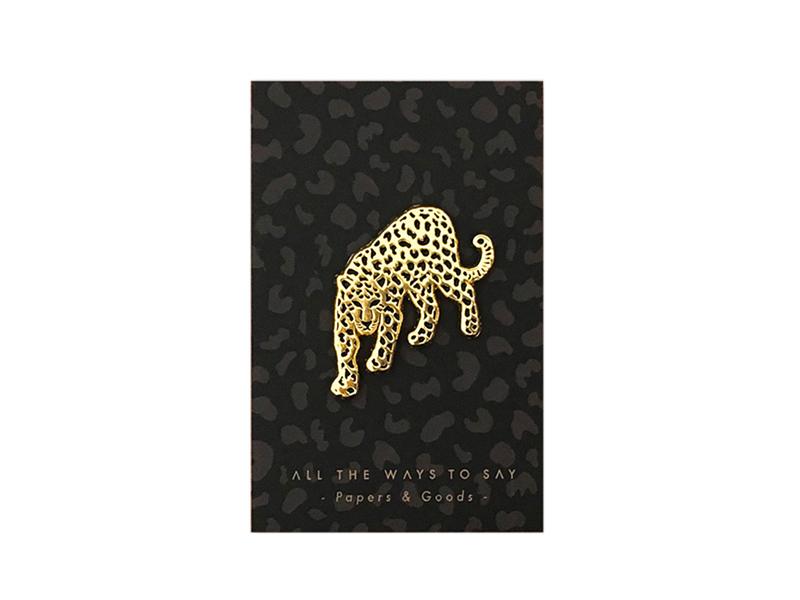 Acheter Broche pin's - Léopard - 8,99€ en ligne sur La Petite Epicerie - Loisirs créatifs