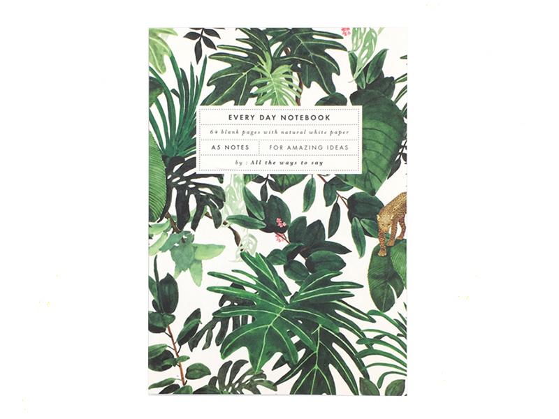 Acheter Carnet A5 - Jungle - 7,99€ en ligne sur La Petite Epicerie - 100% Loisirs créatifs