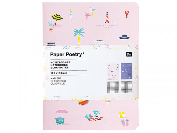 Acheter Lot de 2 carnets, Maritime - 10.5 cm x 14 cm - 5,19€ en ligne sur La Petite Epicerie - 100% Loisirs créatifs